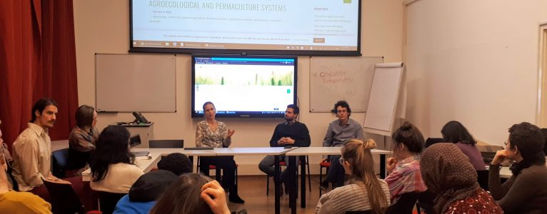 Successful discussion about agroecological and permaculture systems