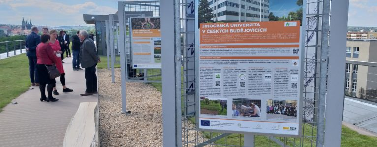 trAEce presented on the opening of the exhibition Social Agriculture: Opportunity for Farmers